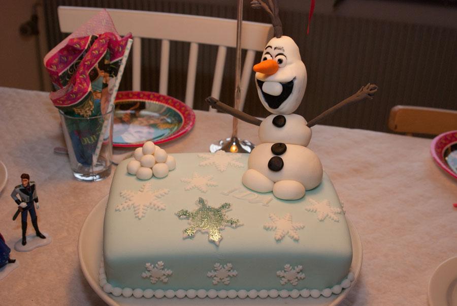 Frostkage med Olaf