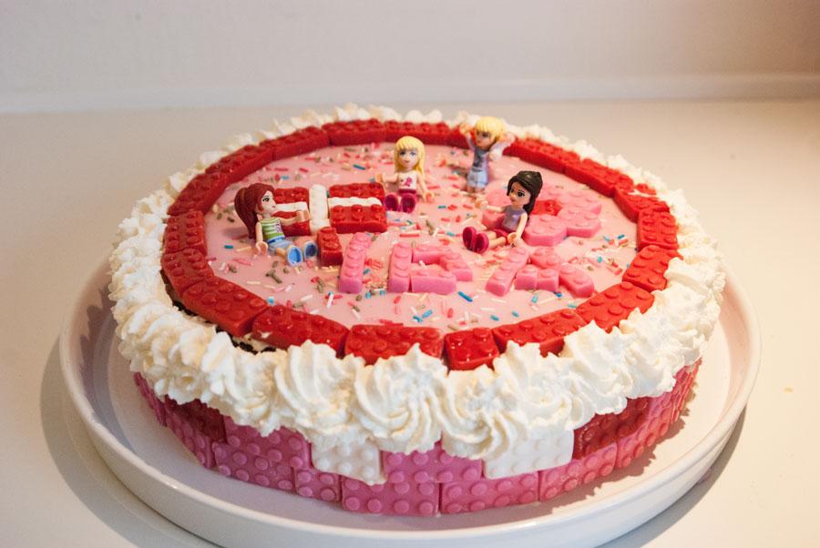 børnefødselsdag kage nem