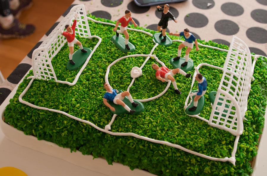 fodboldkage-close-up