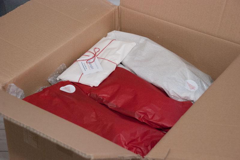 kasse med gaver